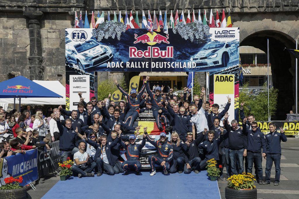 Neuville reuseste prima victorie in WRC alaturi de Hyundai