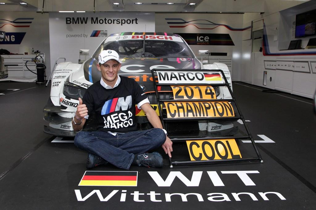Marco Wittmann este noul campion DTM