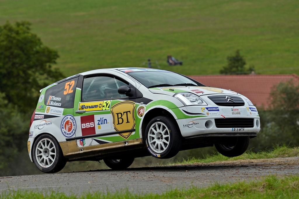 Florin Tincescu și Iulian Nicolaescu au terminat primul raliu din Junior ERC