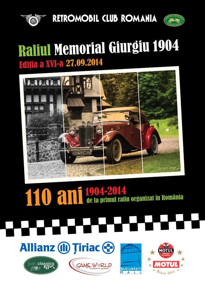 Raliul Memorial Giurgiu 1904 a XVI-a editie