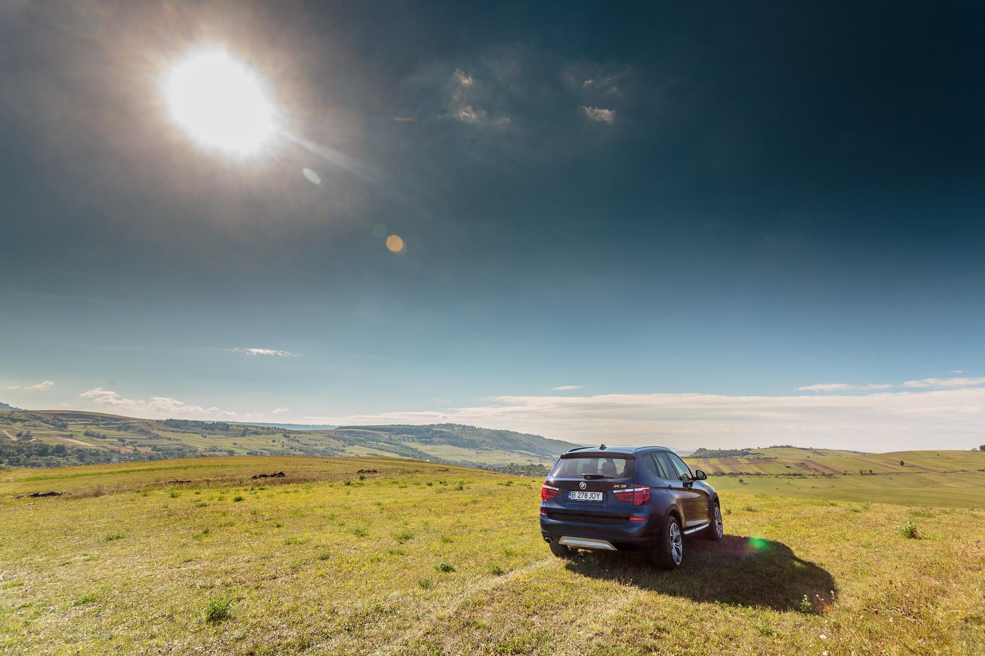 Drive test BMW X3 xDrive 20d