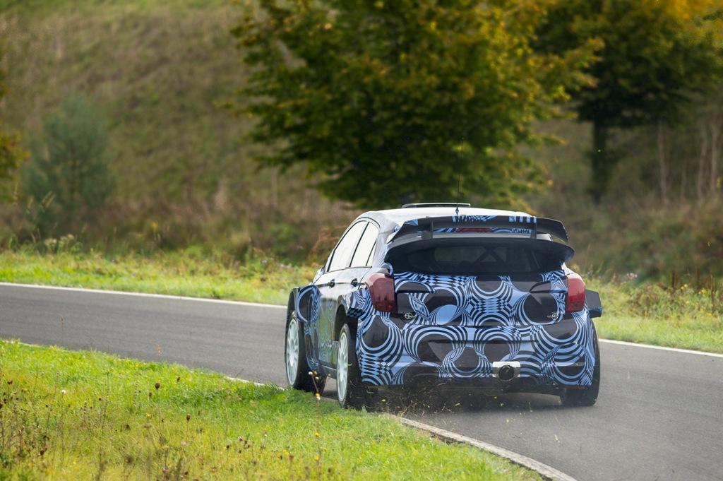 Hyundai Motorsport a inceput testele cu prototipul i20WRC