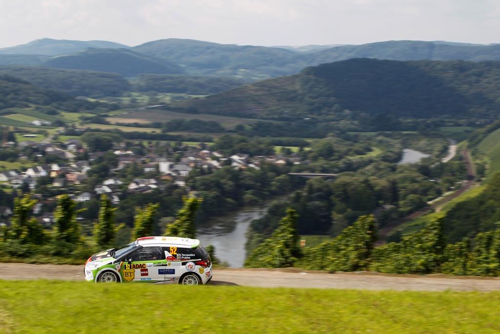 Simone Tempestini continua campania din Junior WRC in Raliul Franței