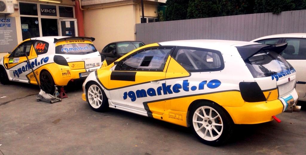 SERUS SG Racing Team vine cu masini in premiera la Trofeul Rasnov