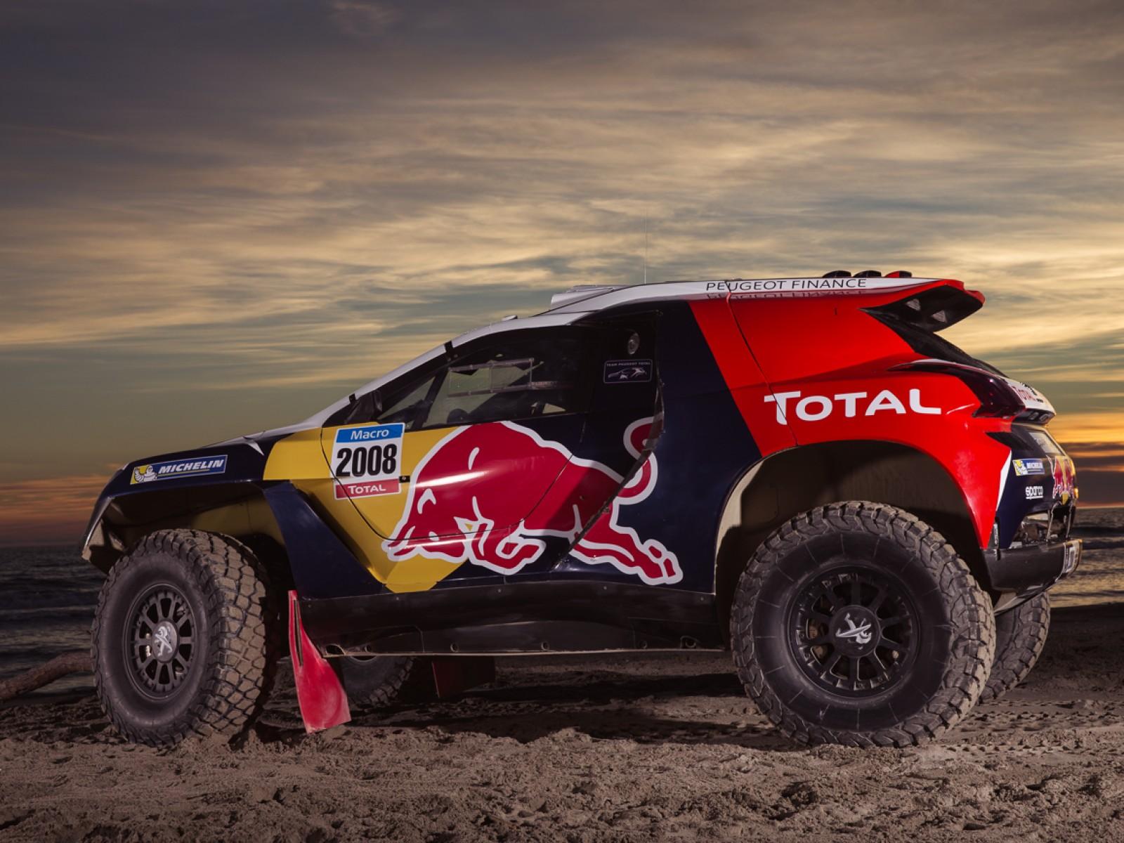 Peugeot prezinta in premiera grafica modelului 2008 pentru Dakar 2015