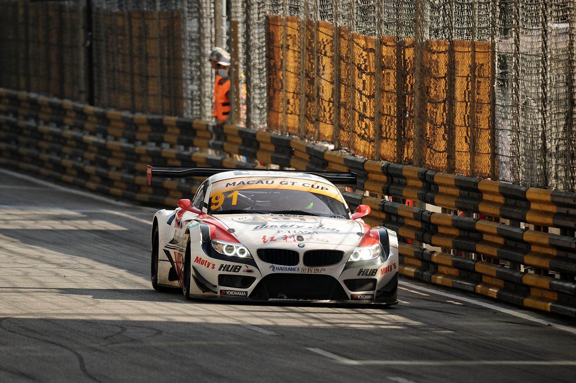 3 piloti DTM s-au duelat in GT Cup la Macao