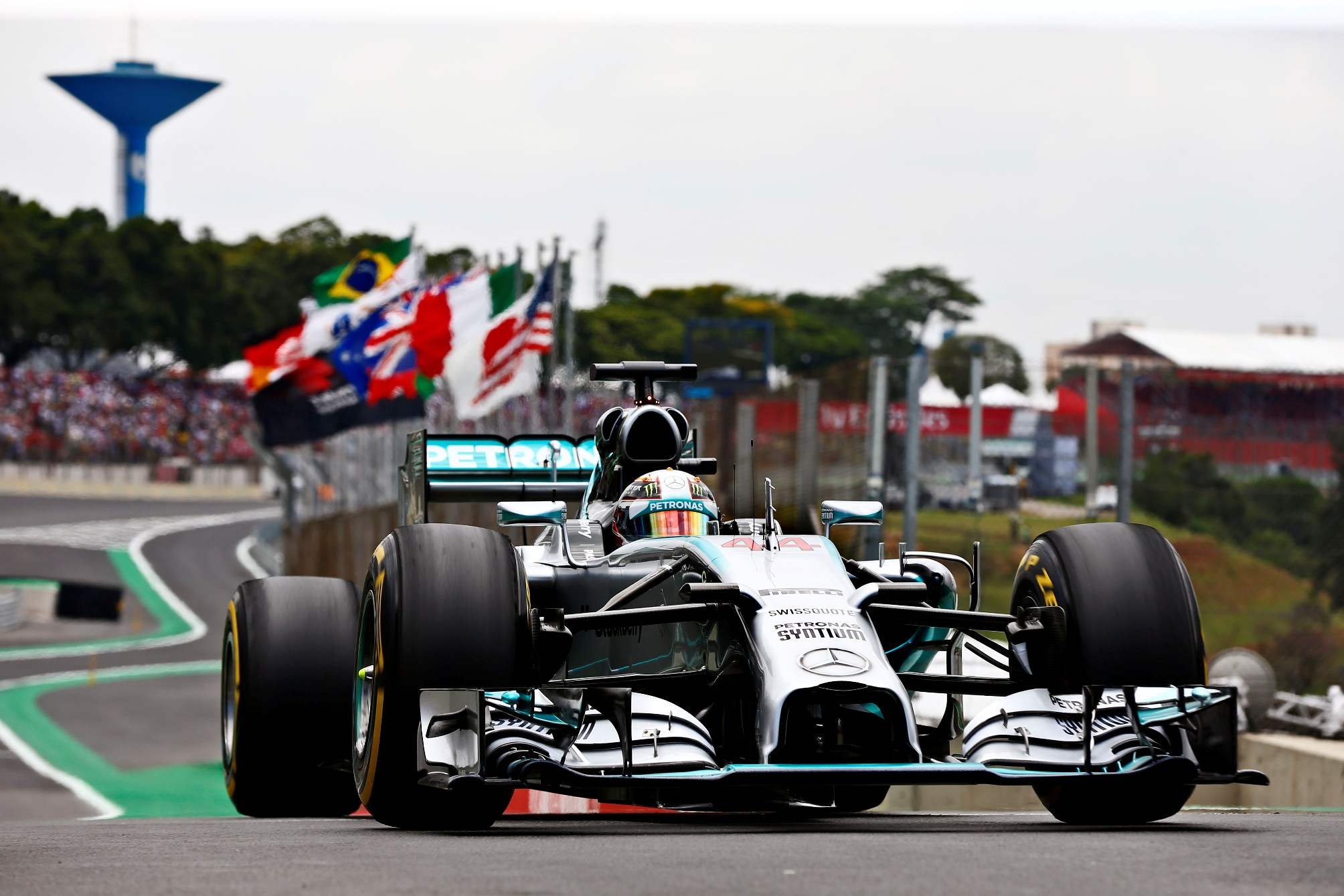 Victorie pentru Rosberg in Brazilia