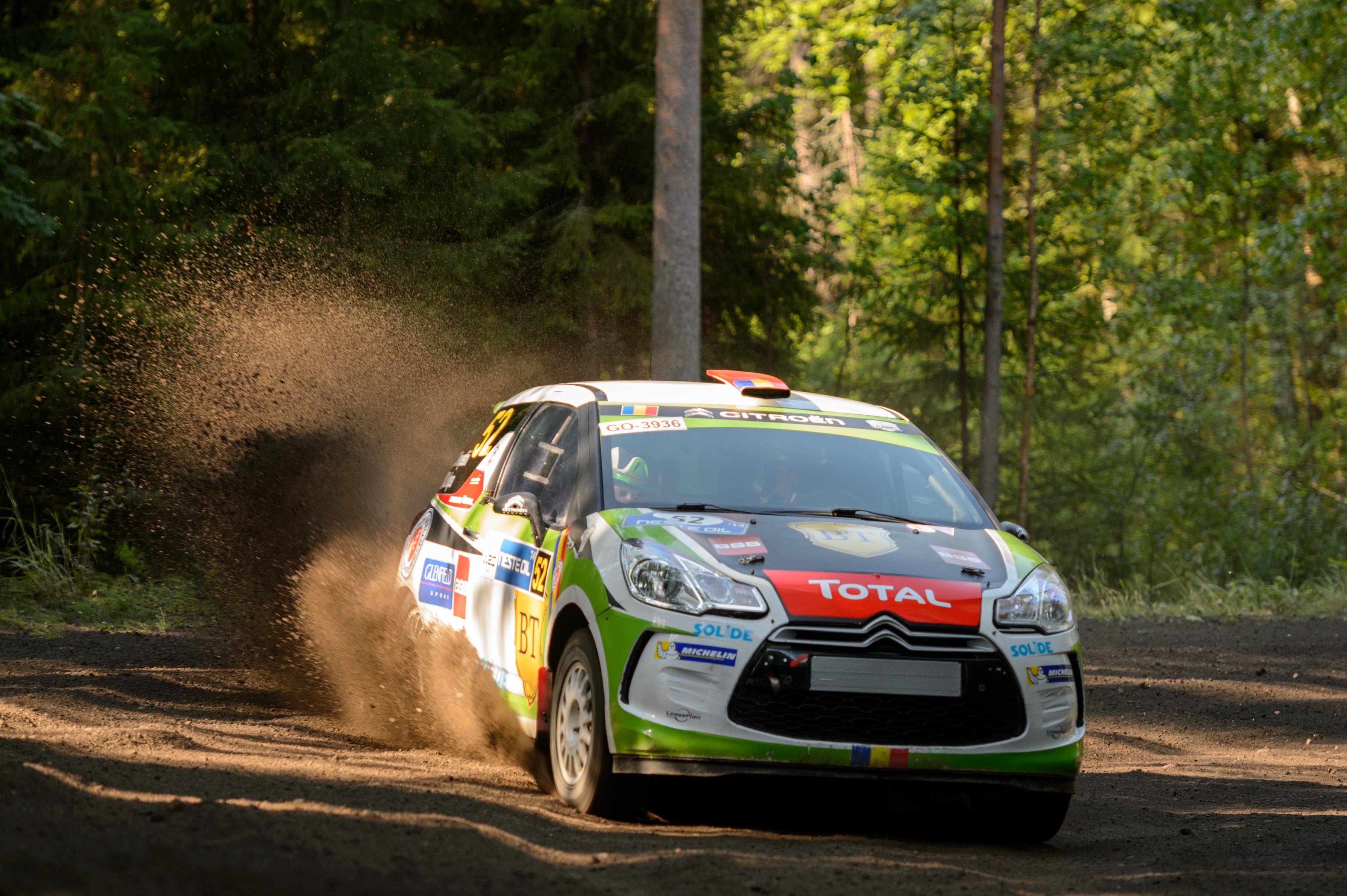 Simone Tempestini încheie campania din Junior WRC cu Raliul Marii Britanii
