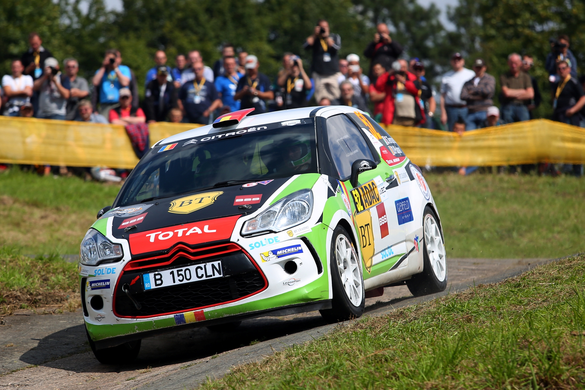 Locul 4 pentru Simone Tempestini în Citroen Racing Trophy Franța la Rallye du Var