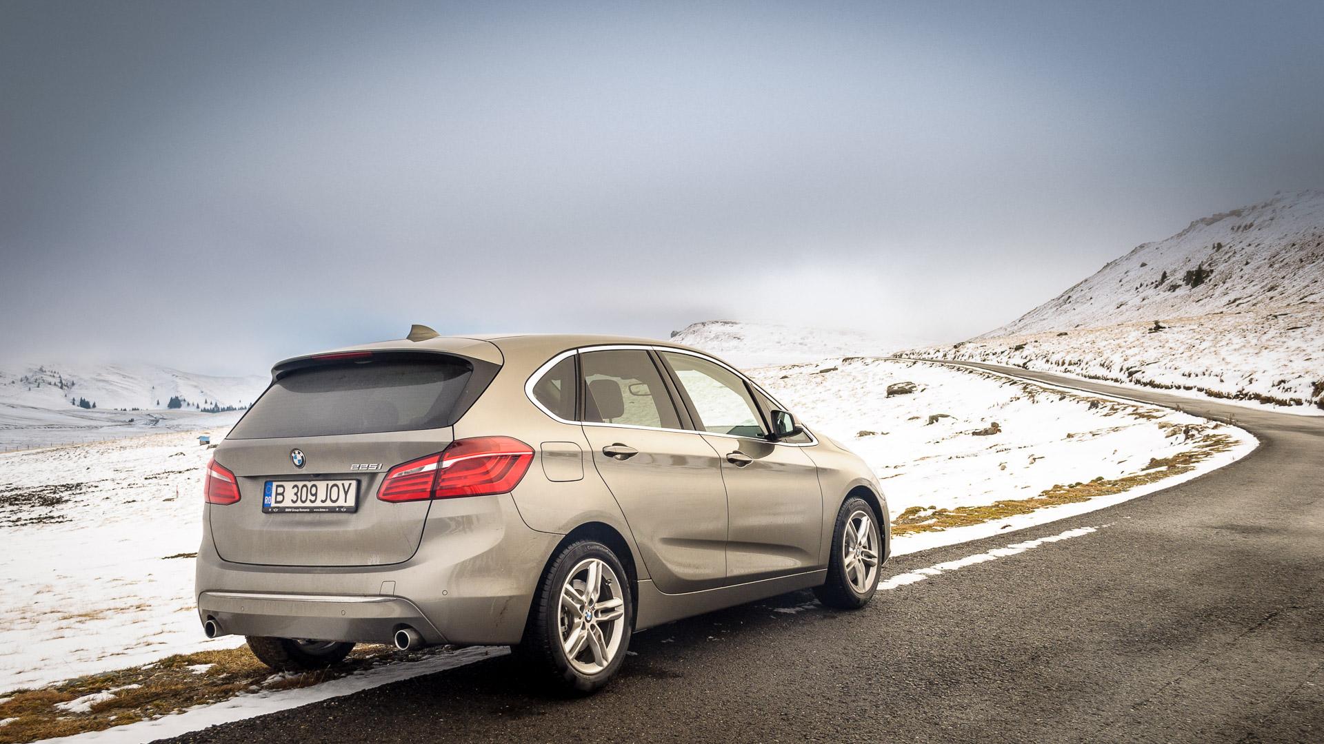Drive test BMW Seria 2 Active Tourer – 225i – 2.0 – 231CP – AT8