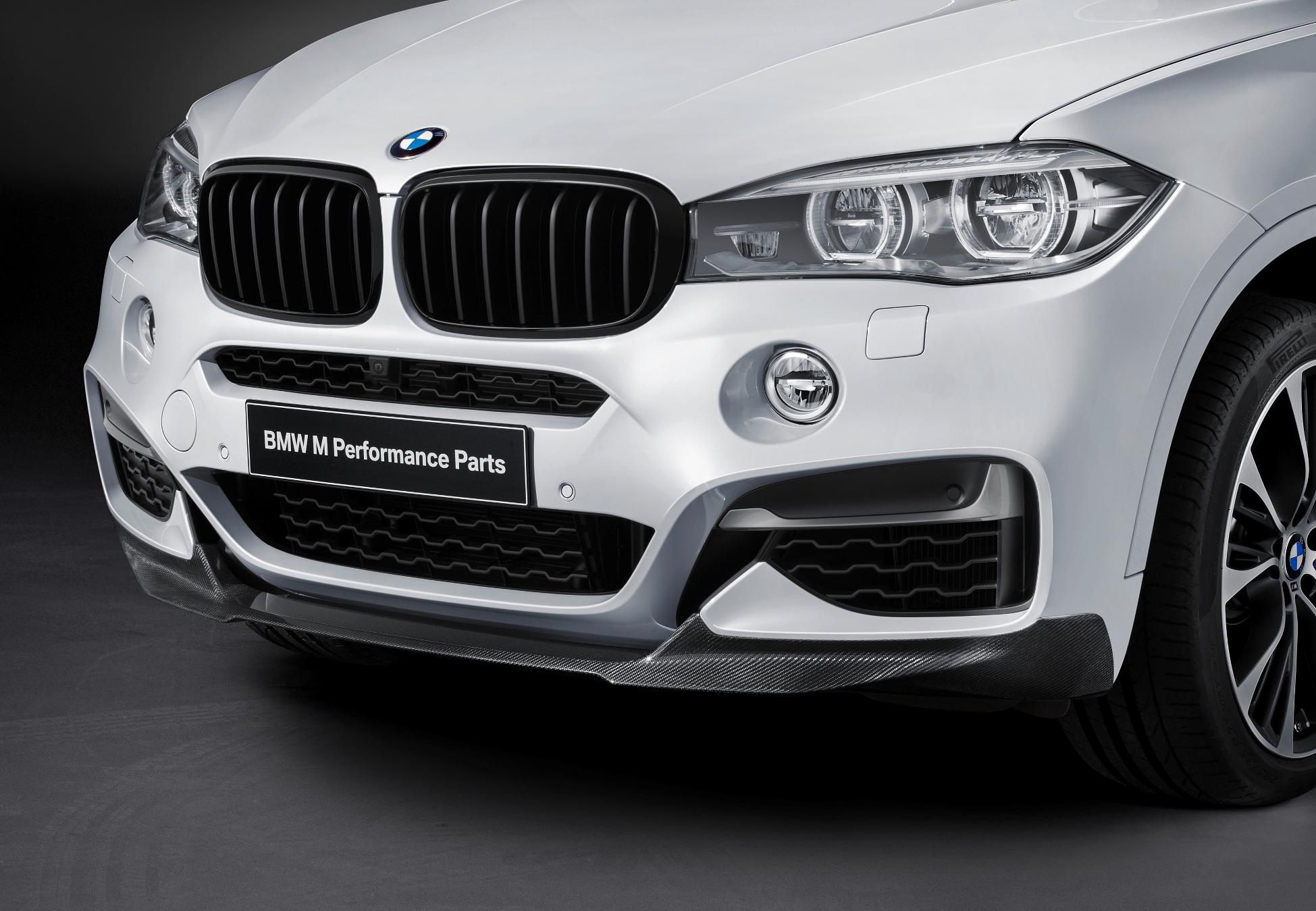 Noile componente BMW M Performance pentru BMW X6
