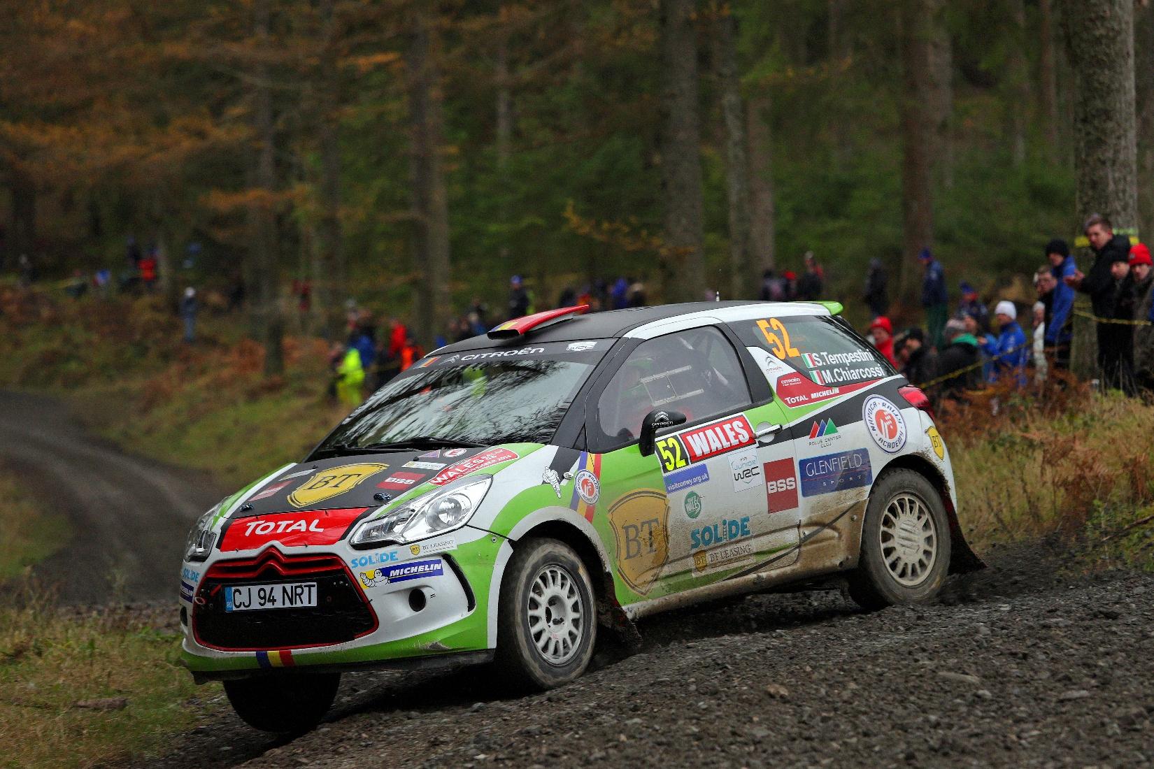 Simone Tempestini va face un sezon aproape complet in WRC