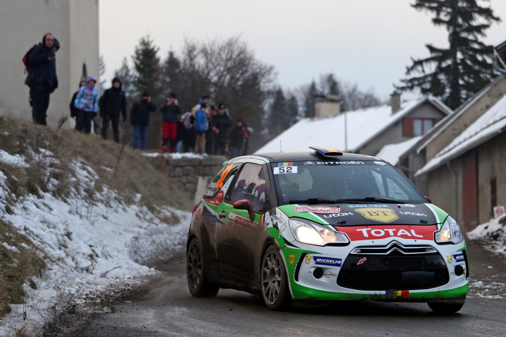 Simone Tempestini obtine locul 4 in Junior WRC la Raliul Monte-Carlo 2015