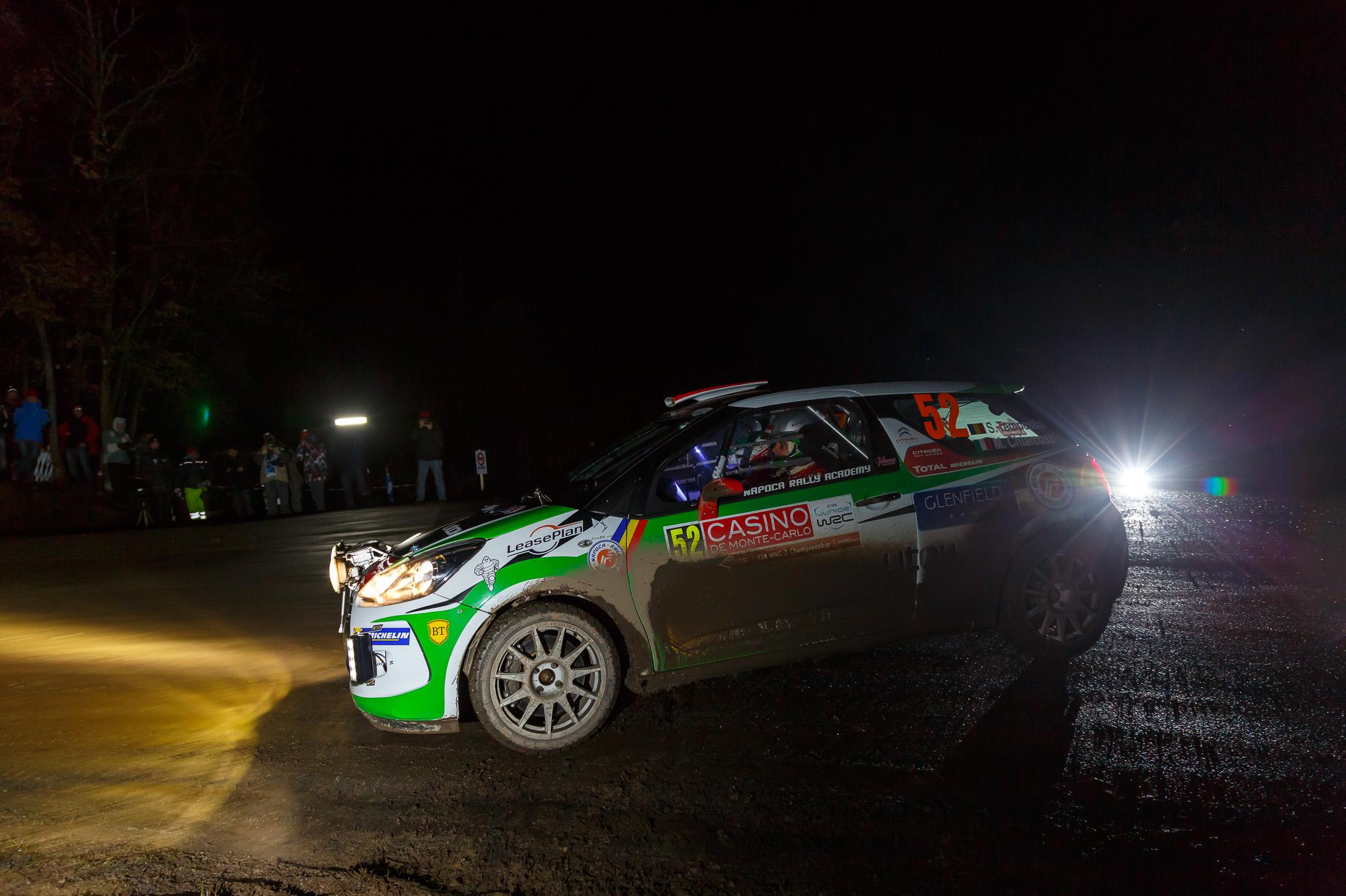 Simone Tempestini ocupa locul 5 în Junior WRC după două zile in Raliul Monte-Carlo