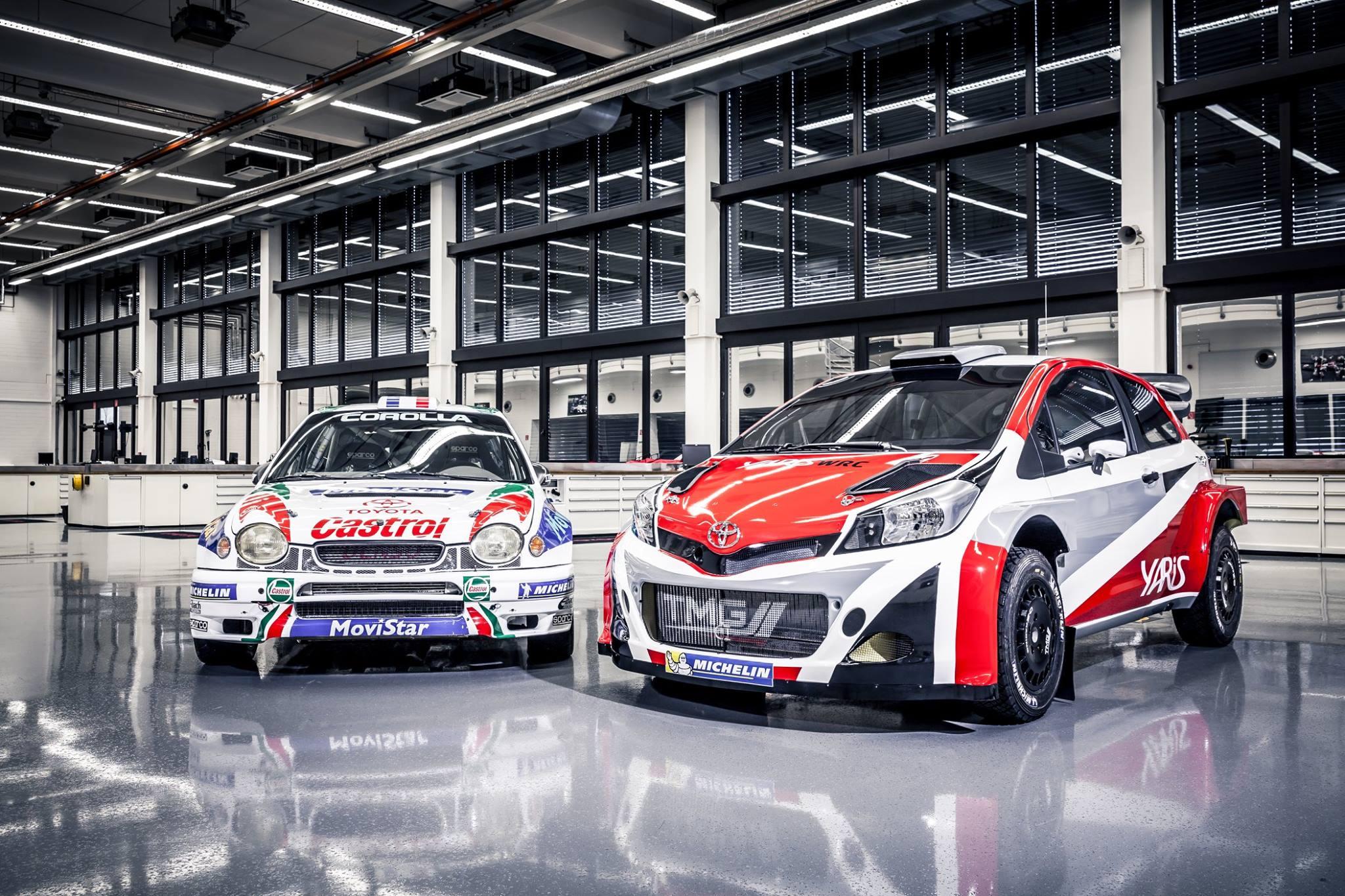 Toyota revine in WRC din 2017