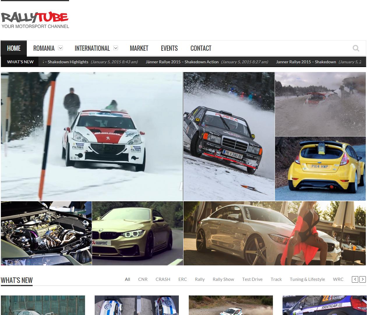 Rallytube.ro – o noua interfata online pentru iubitorii motorsportului