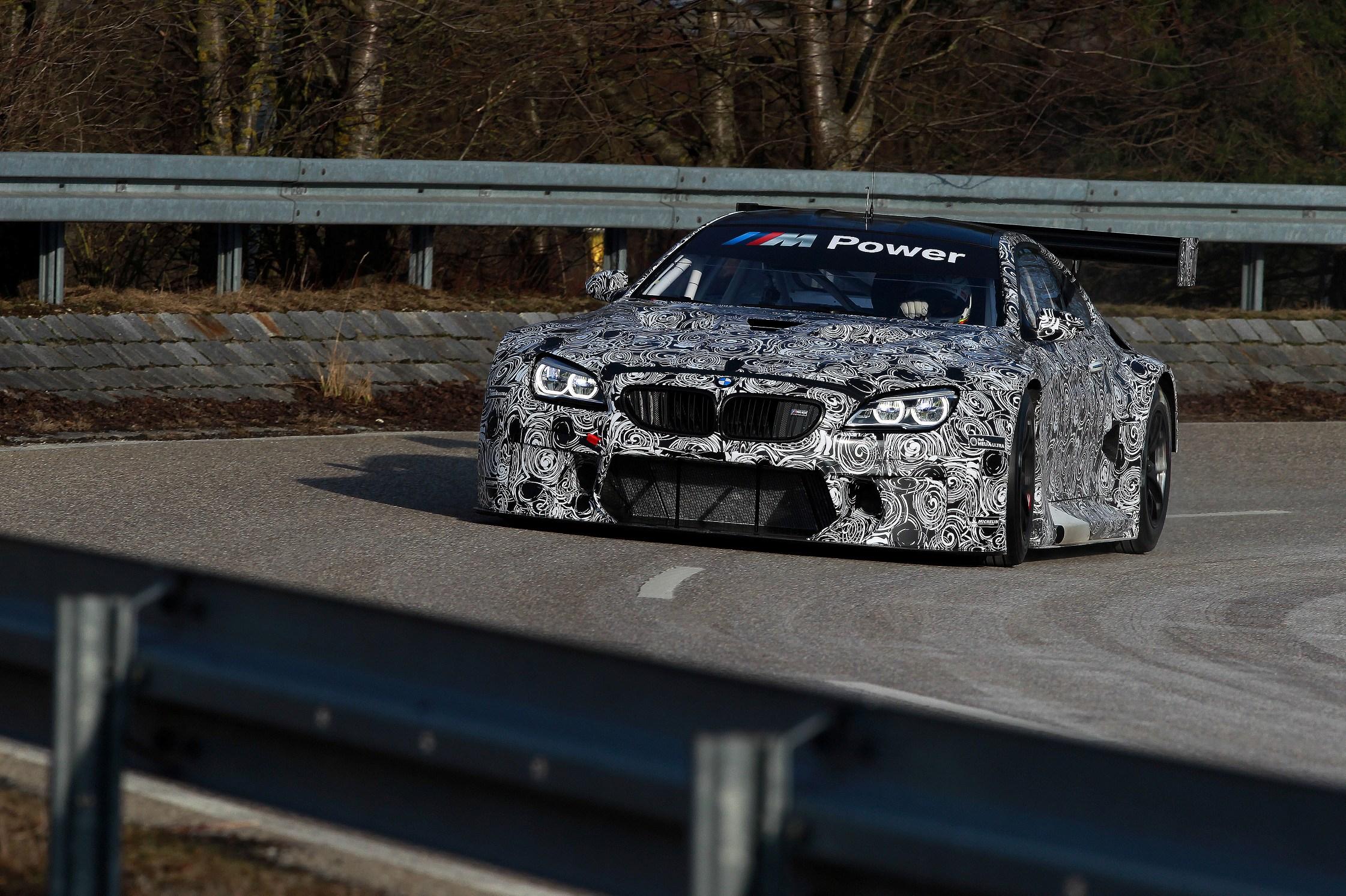 BMW M6 GT3 a fost testat pentru prima oara la uzina BMW din Dingolfing