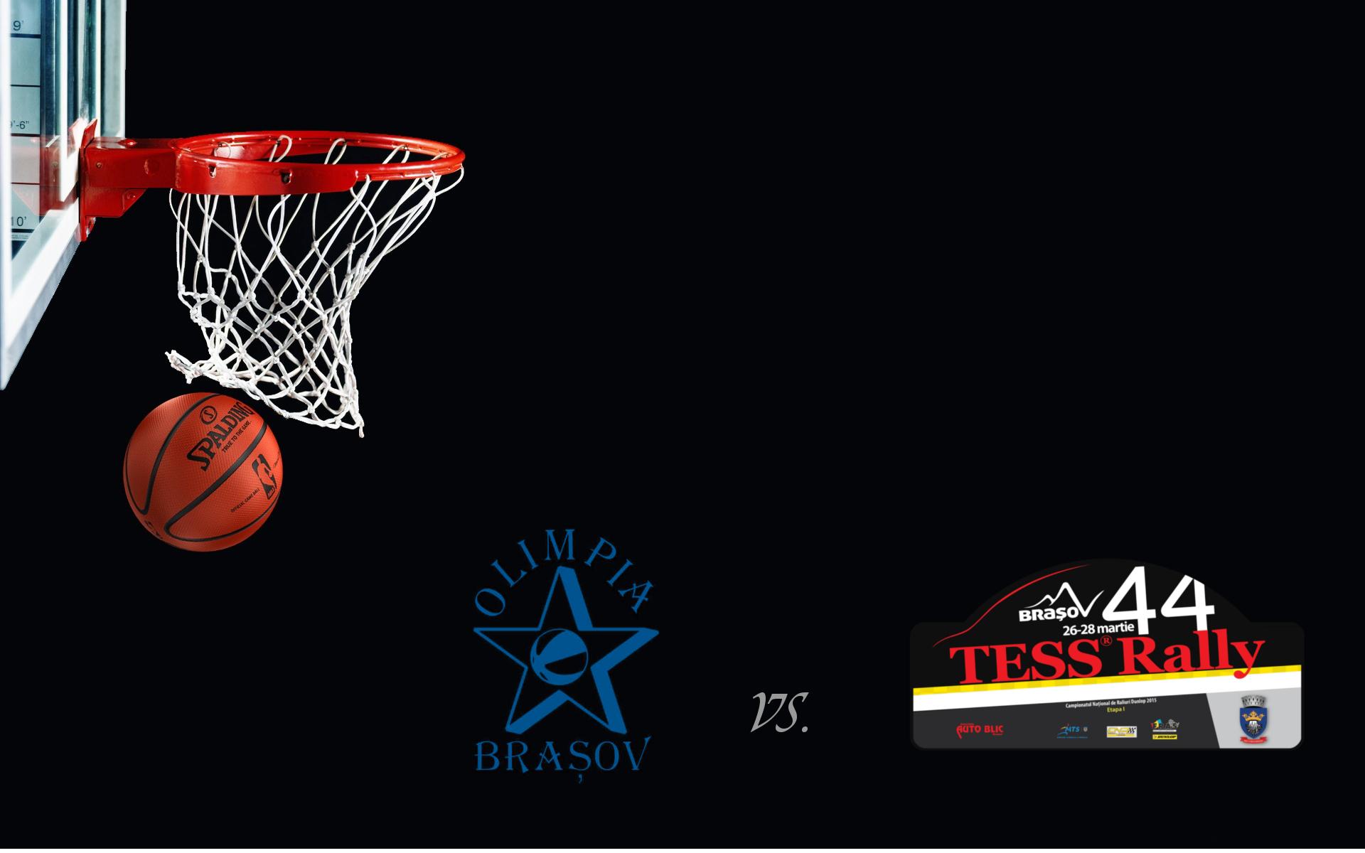 Meci de baschet eveniment: concurentii de la Tess Rally Vs. Olimpia CSU Brasov