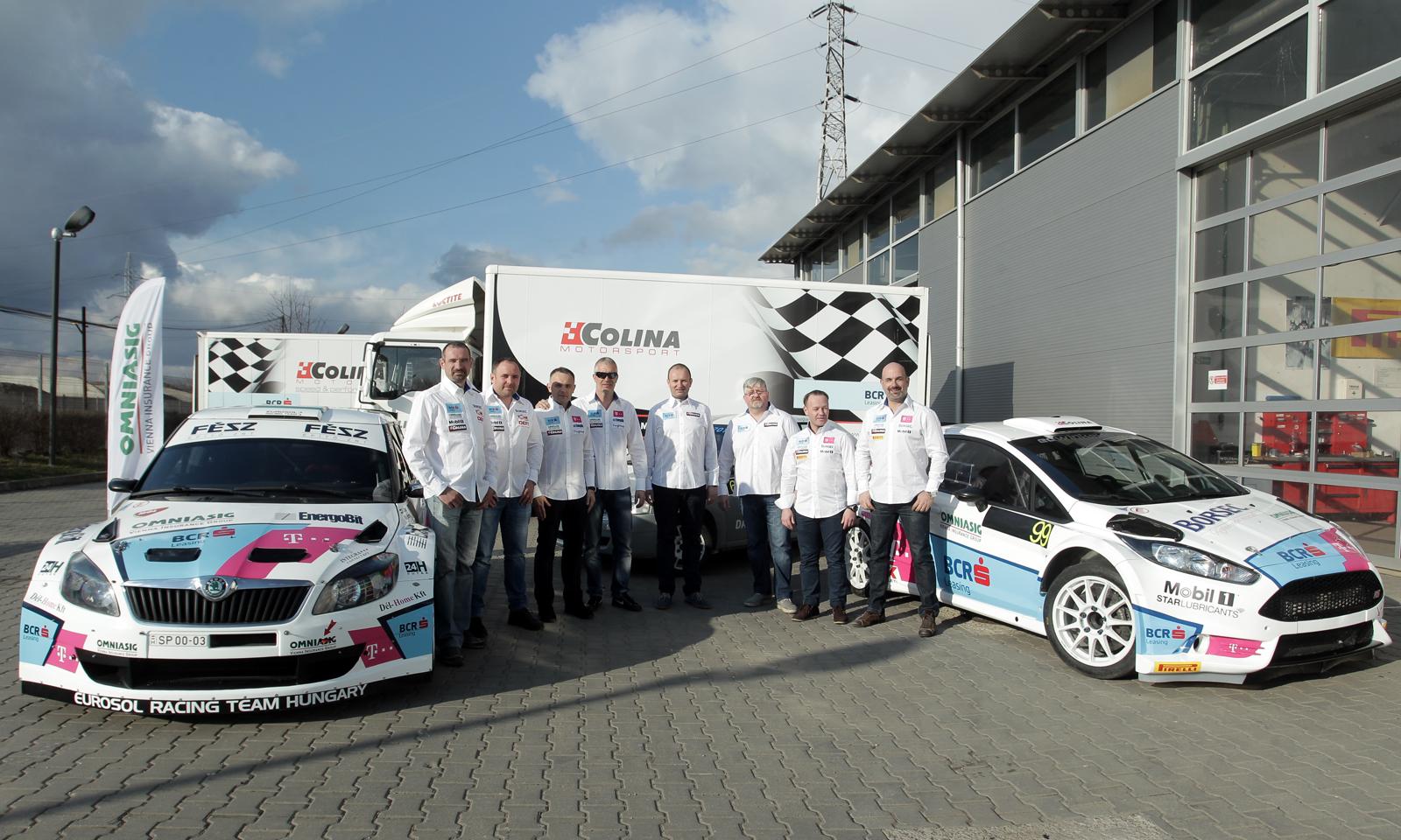 BCR Leasing Rally Team – 4 echipaje pentru al 4-lea sezon