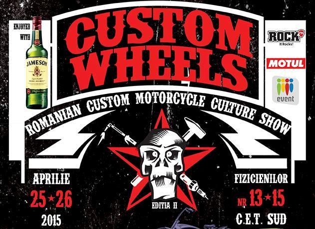 Custom Wheels Show – evenimentul weekend-ului 25-26 aprilie in Bucuresti