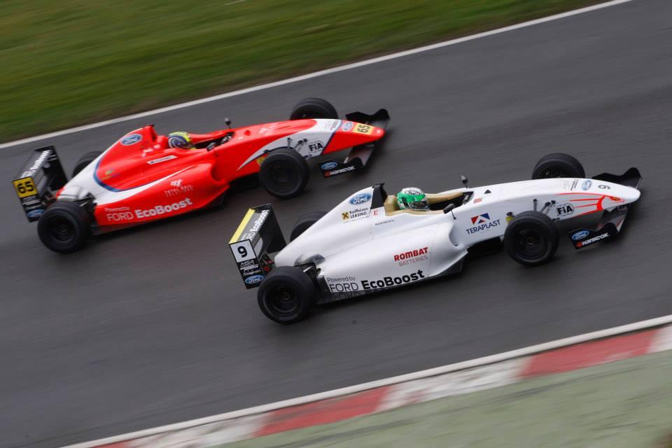 Alexandra Marinescu a ratat cursa de la Brands Hatch