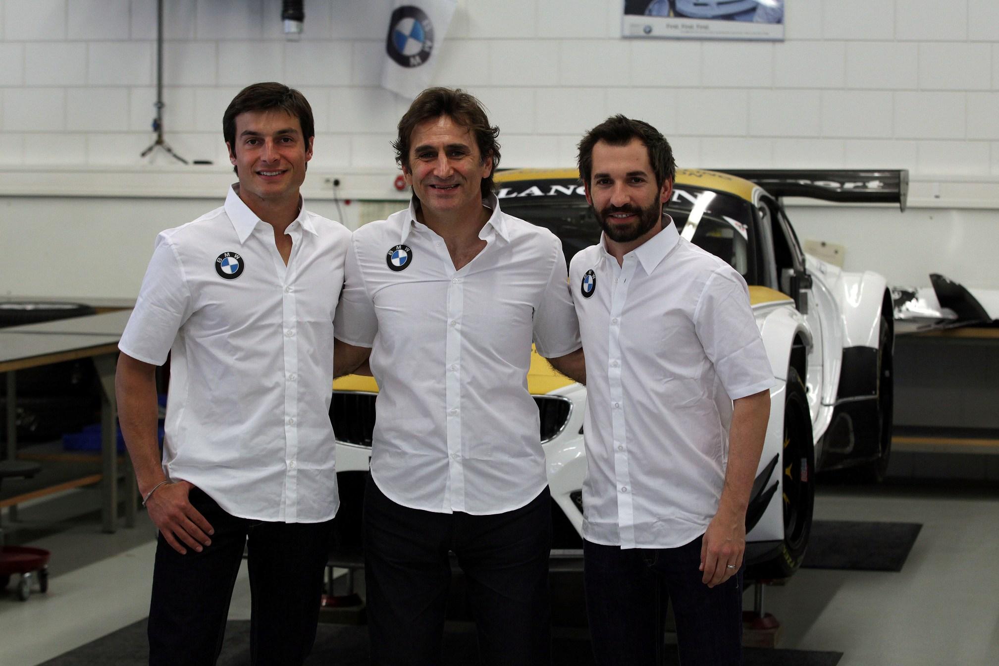 Glock, Spengler si Zanardi la Spa 24H