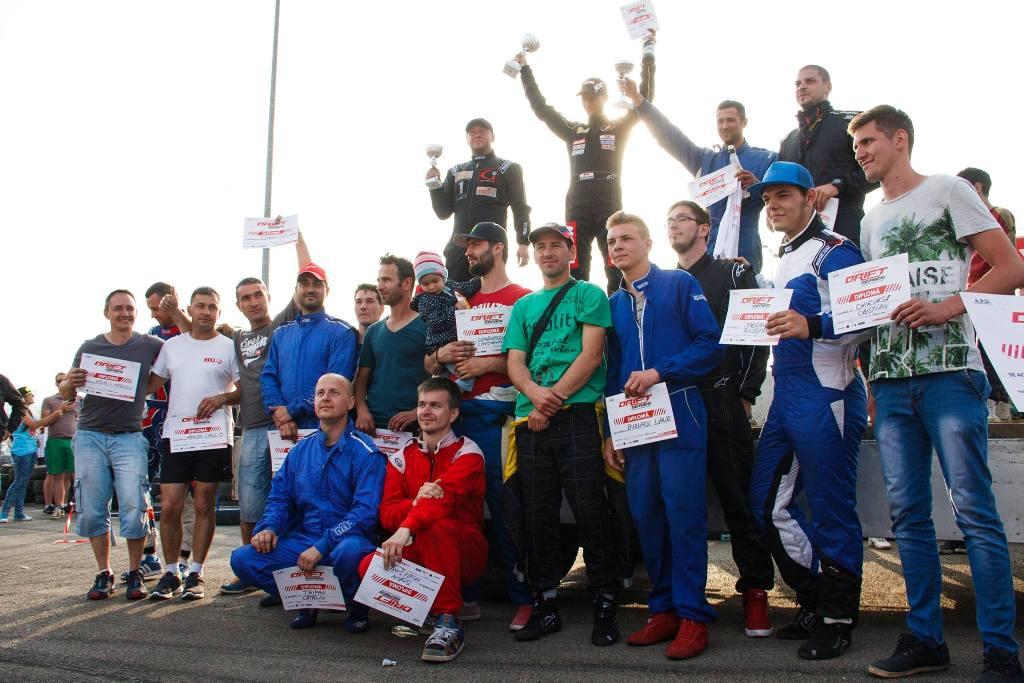 Victorie pentru Sorin Ene in prima etapa a Campionatului National de Drift