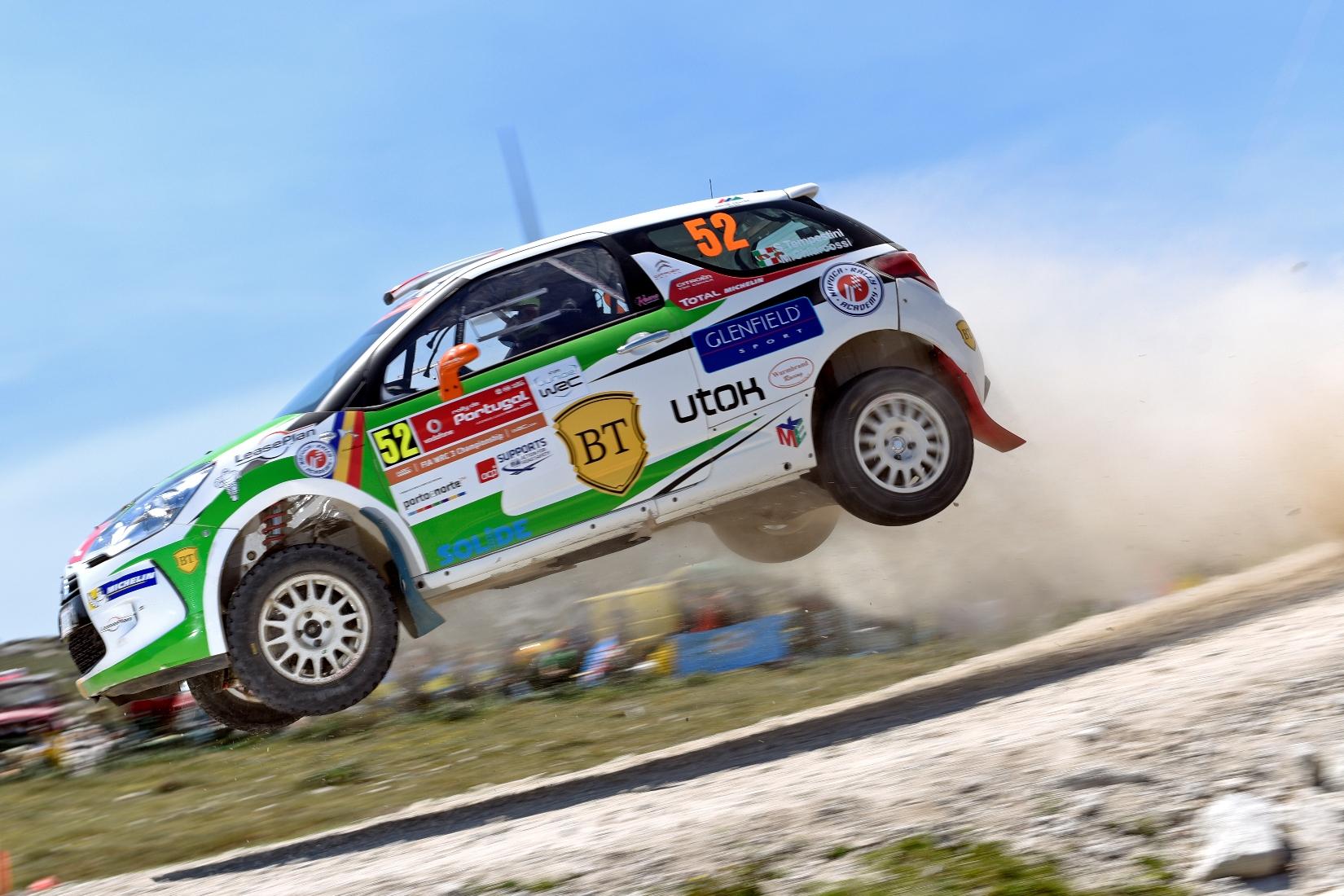 Simone Tempestini a terminat pe 6 în Junior WRC in Raliul Portugaliei