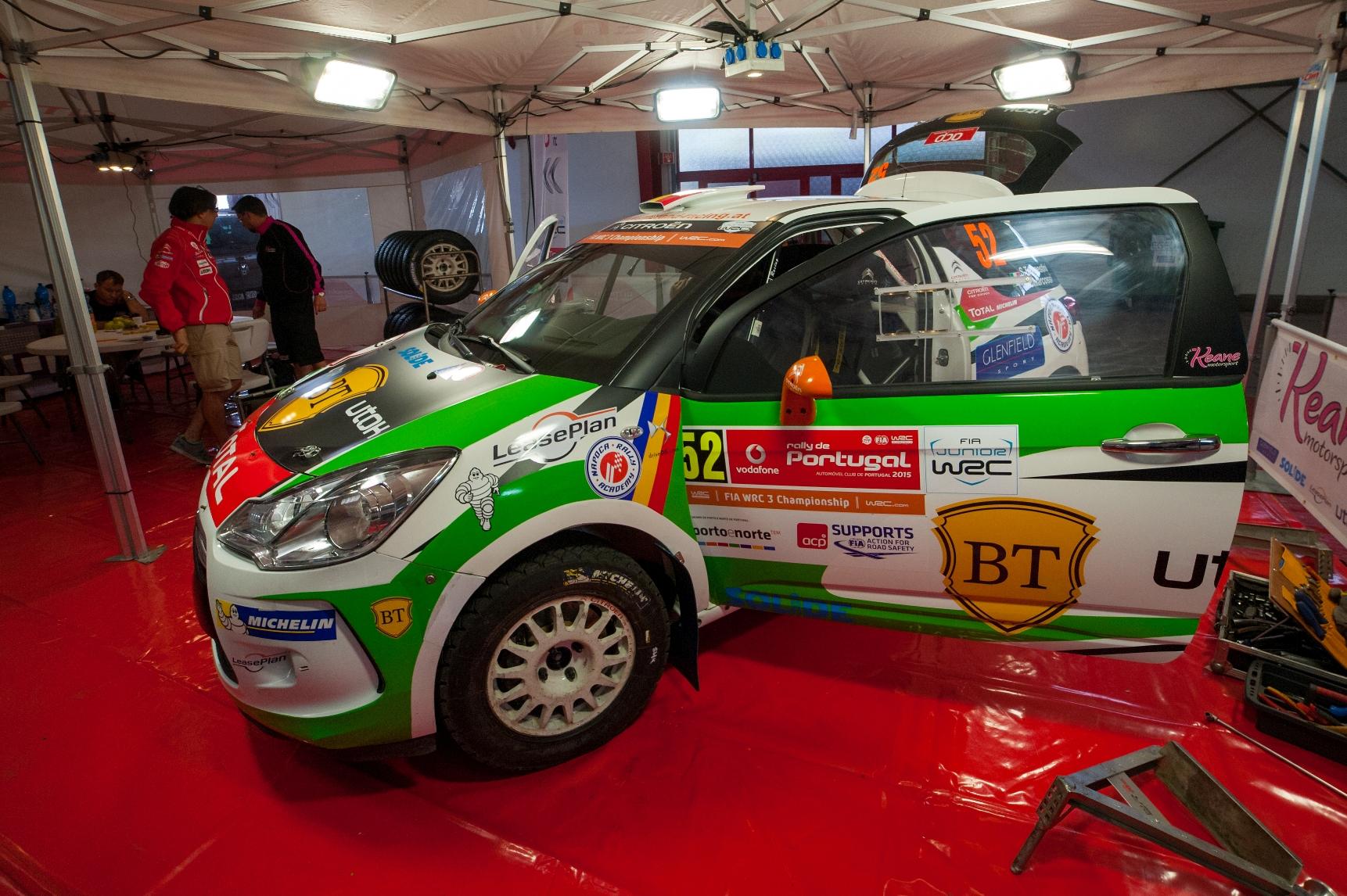 Simone Tempestini și Marco Tempestini vor lua startul în Raliul Portugaliei