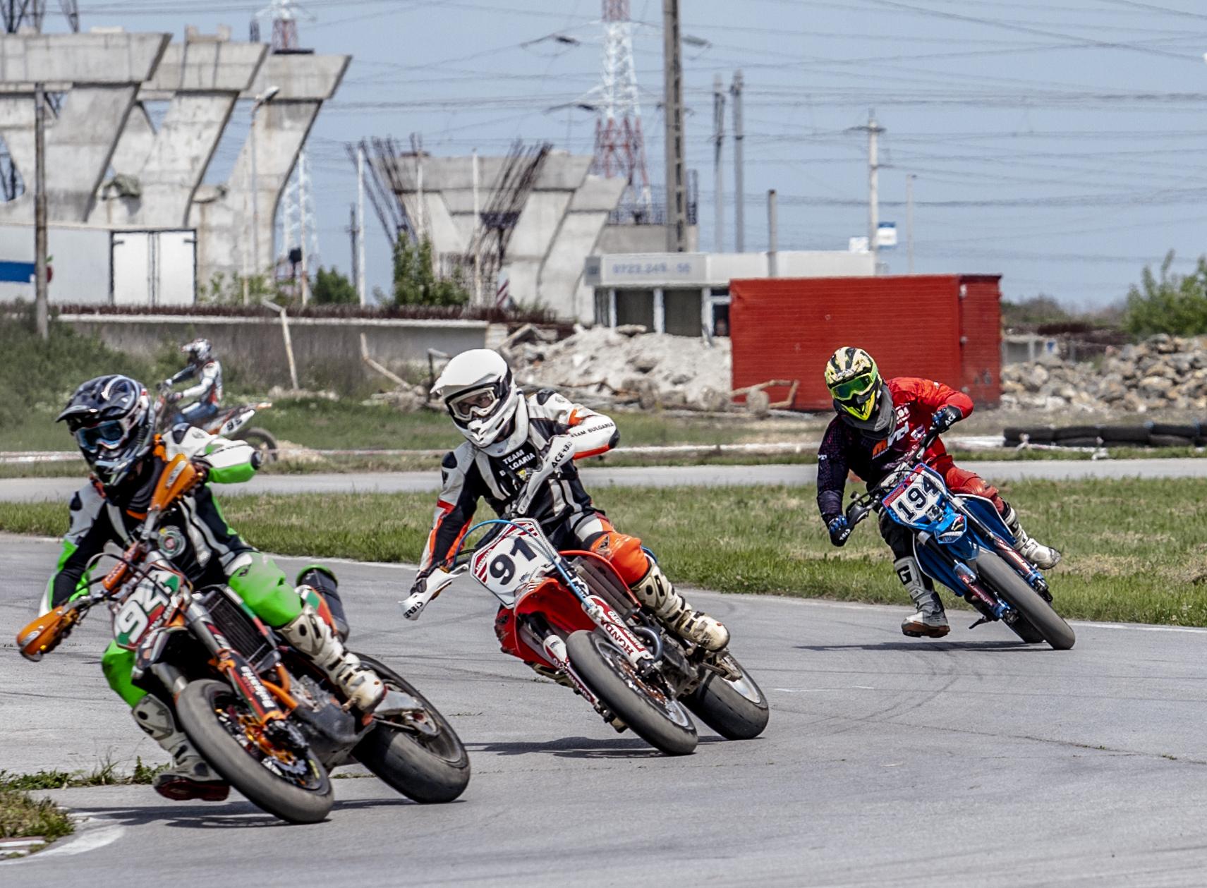 Supermoto – Campionat European la Arad