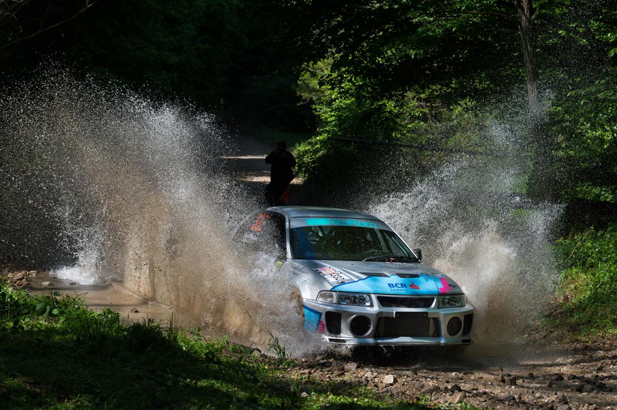 Podiumuri pentru BCR Leasing Rally Team la Raliul Aradului