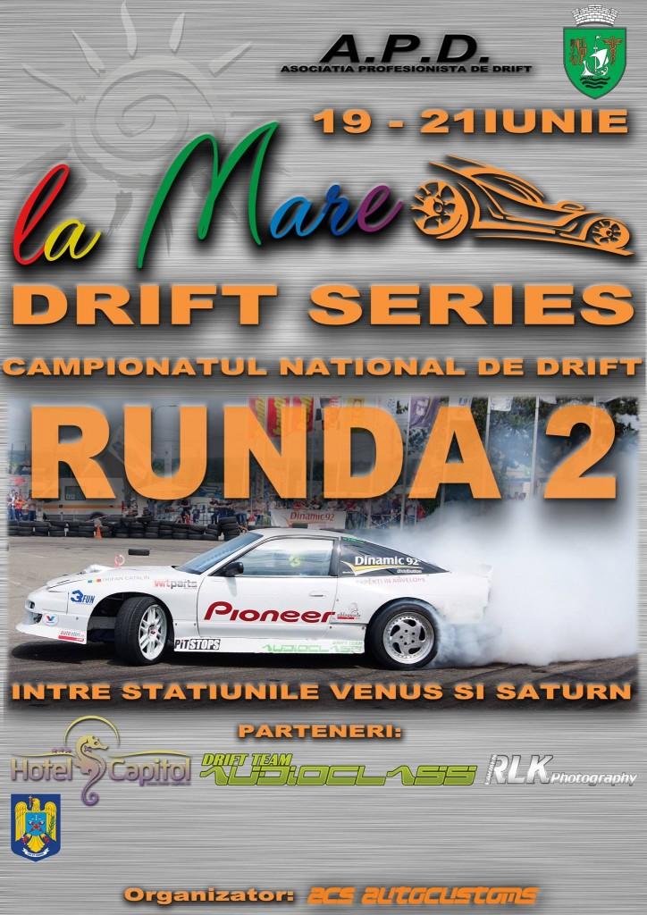 A doua etapa a Campionatului National de Drift va avea loc in Mangalia