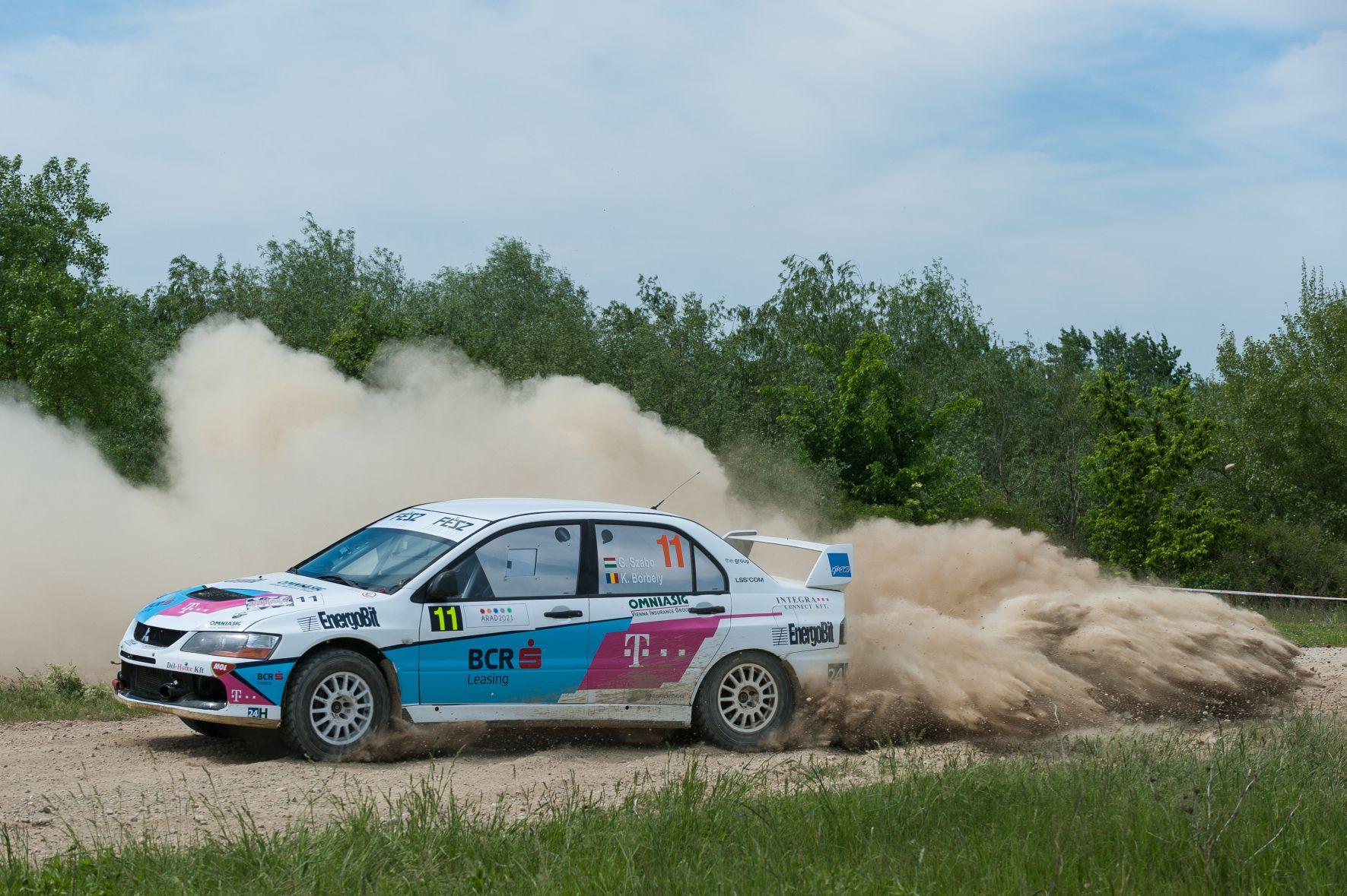 BCR Leasing Rally Team îşi doreşte  cât mai multe puncte la Danube Delta Rally 2015