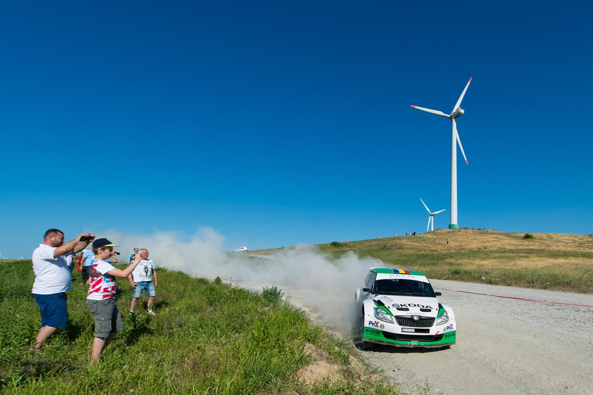 Un nou podium pentru Giri în European Rally Trophy