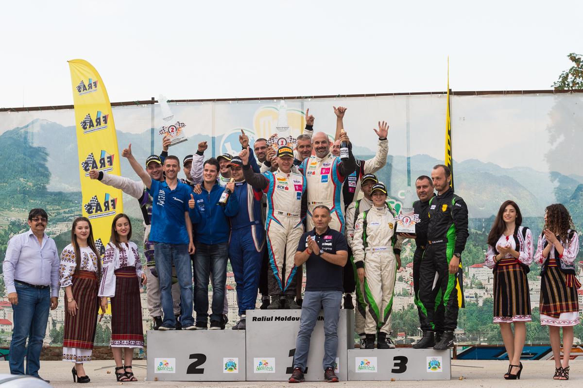 Victorie la piloti si echipe pentru BCR Leasing Rally Team la Raliul Moldovei Moinesti