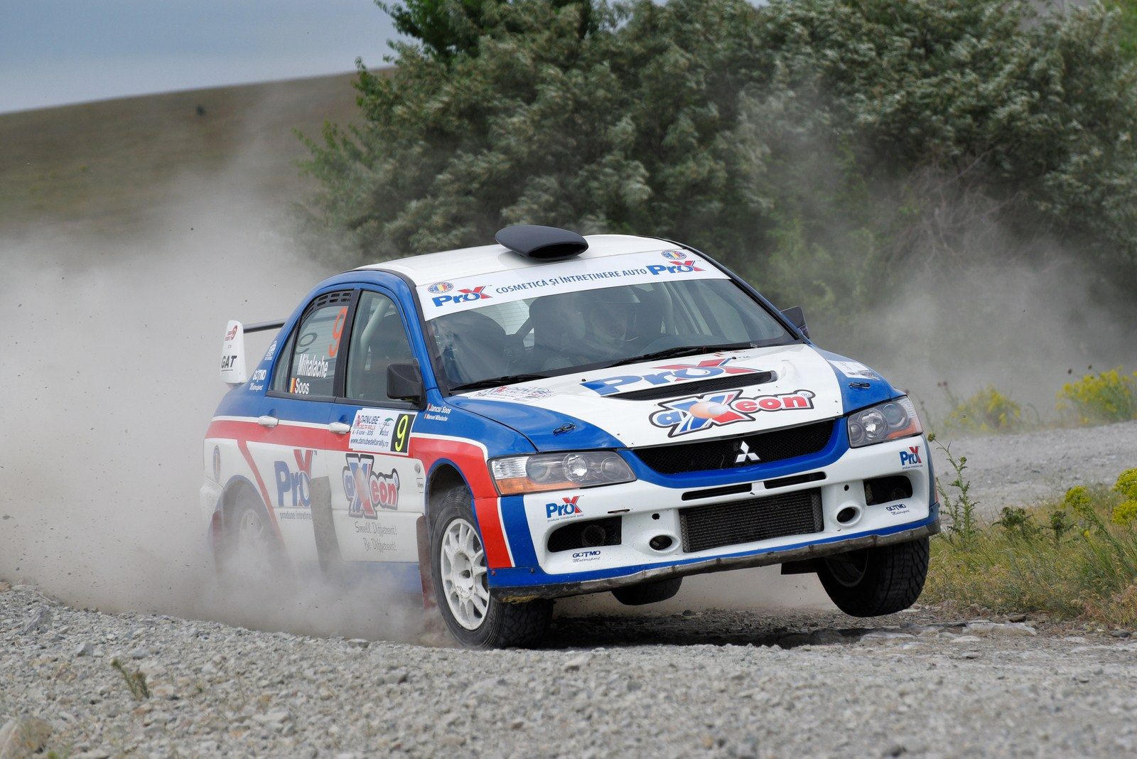 Podium la Danube Delta Rally pentru Manu Mihalache si Jancsi Soos