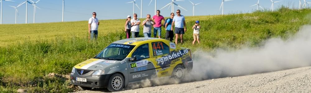 Victorie in Cupa Dacia – Debutanti pentru Gabriel ENE si Ciprian SOLOMON la Danube Delta Rally