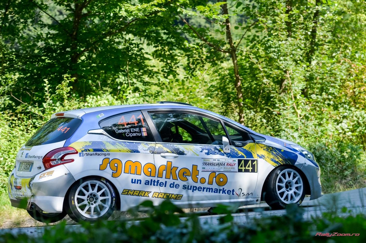 Experienta benefica pentru echipa Shark Racing la Transilvania Rally