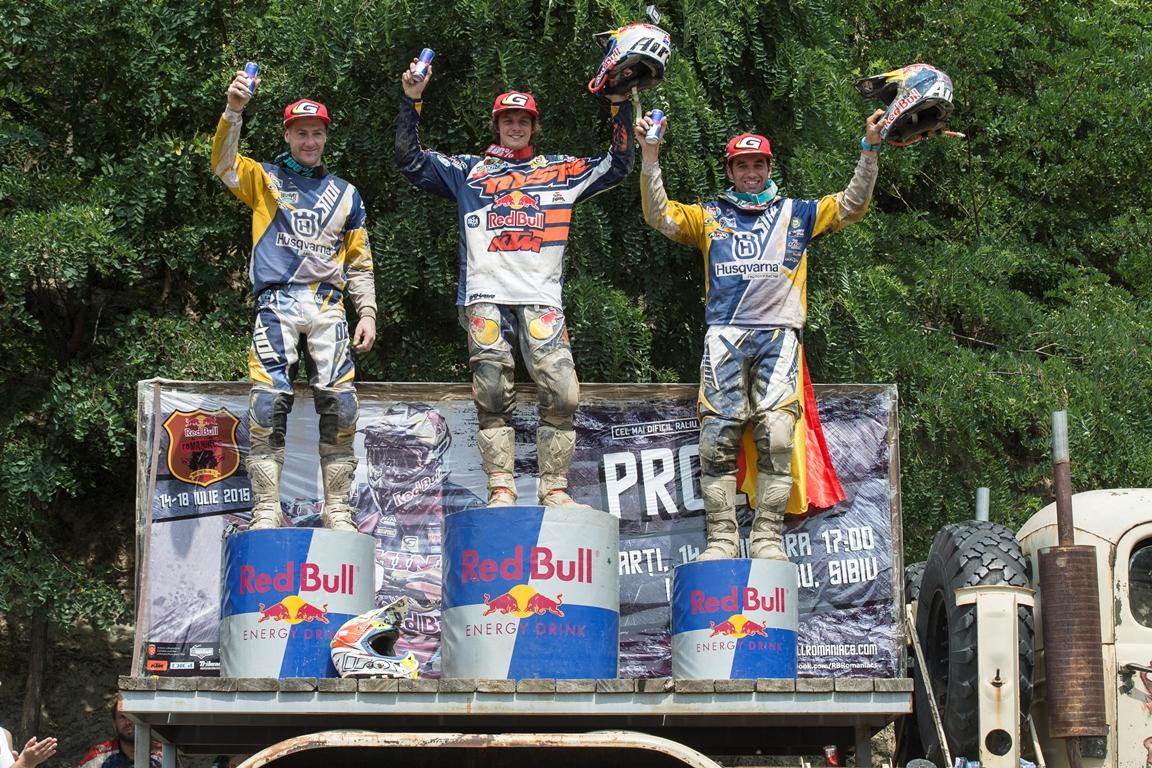 Jonny Walker câștigă al doilea său Red Bull Romaniacs