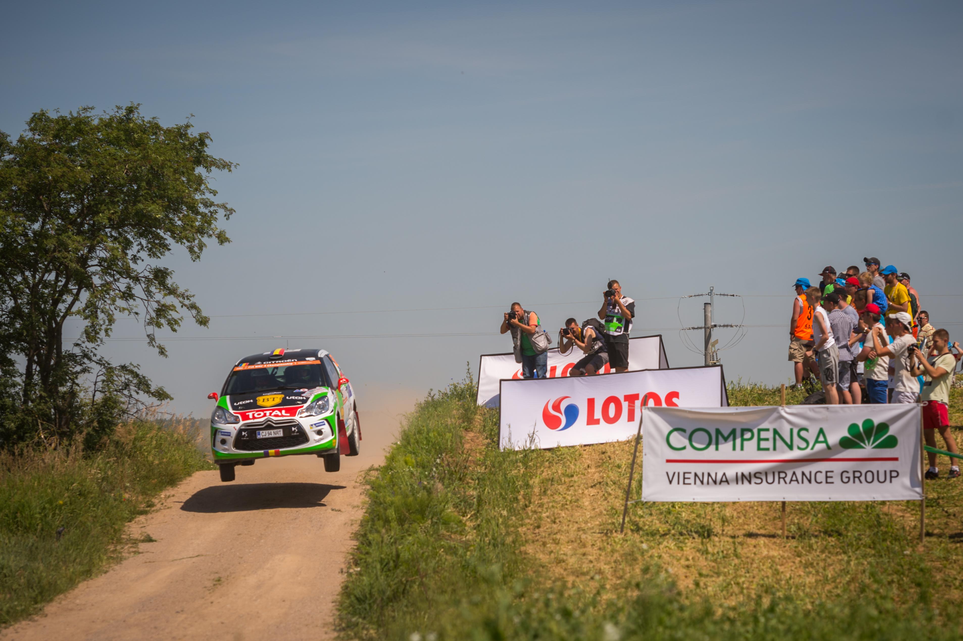 Prima victorie pentru Simone Tempestini în Junior WRC