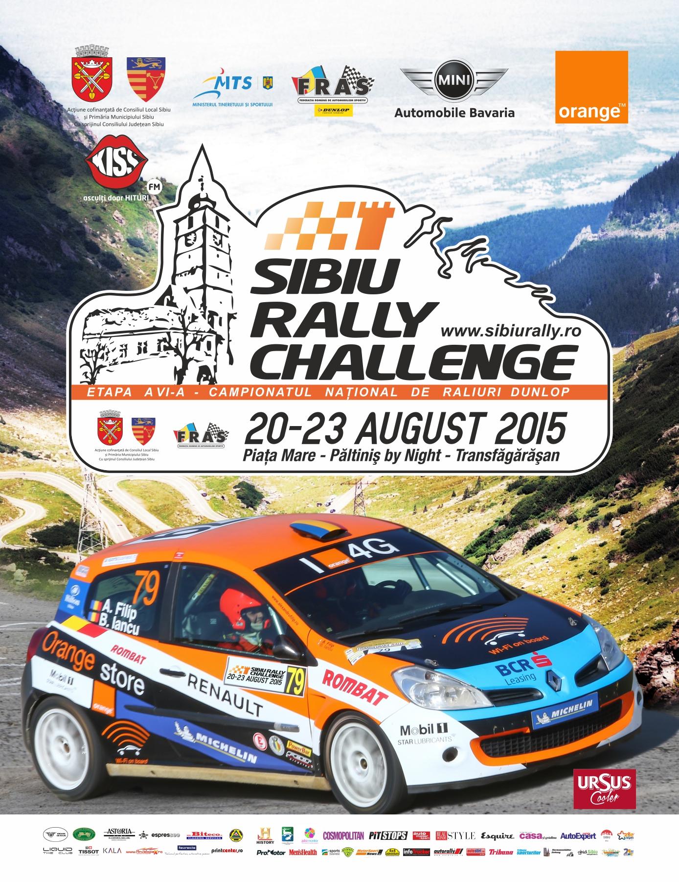 Sibiu Rally Challenge 2015 – Clasamente finale