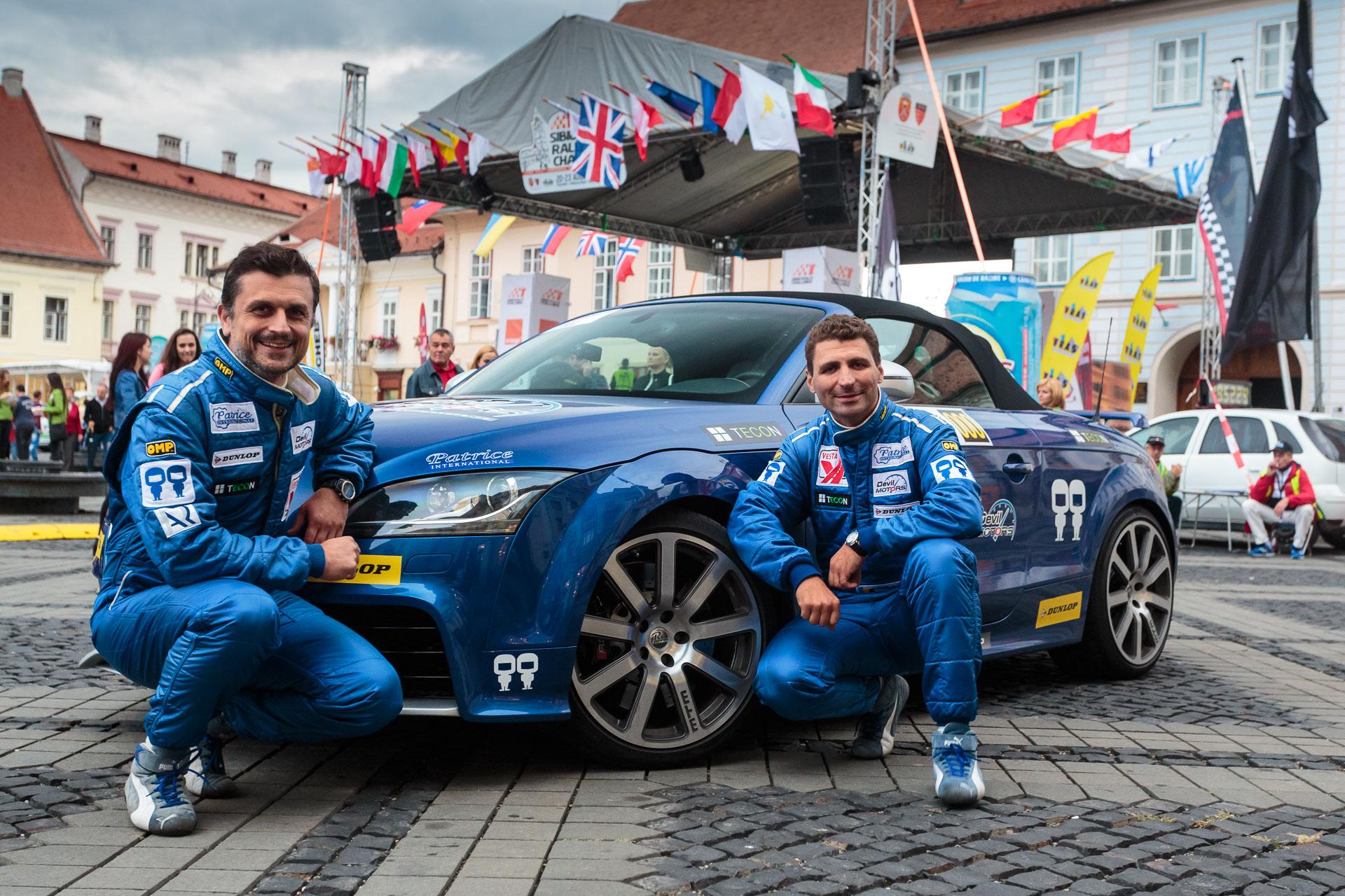 Audi TT-RS by MTM a deschis drumul pe Transfăgărăşan la Sibiu Rally Challenge 2015