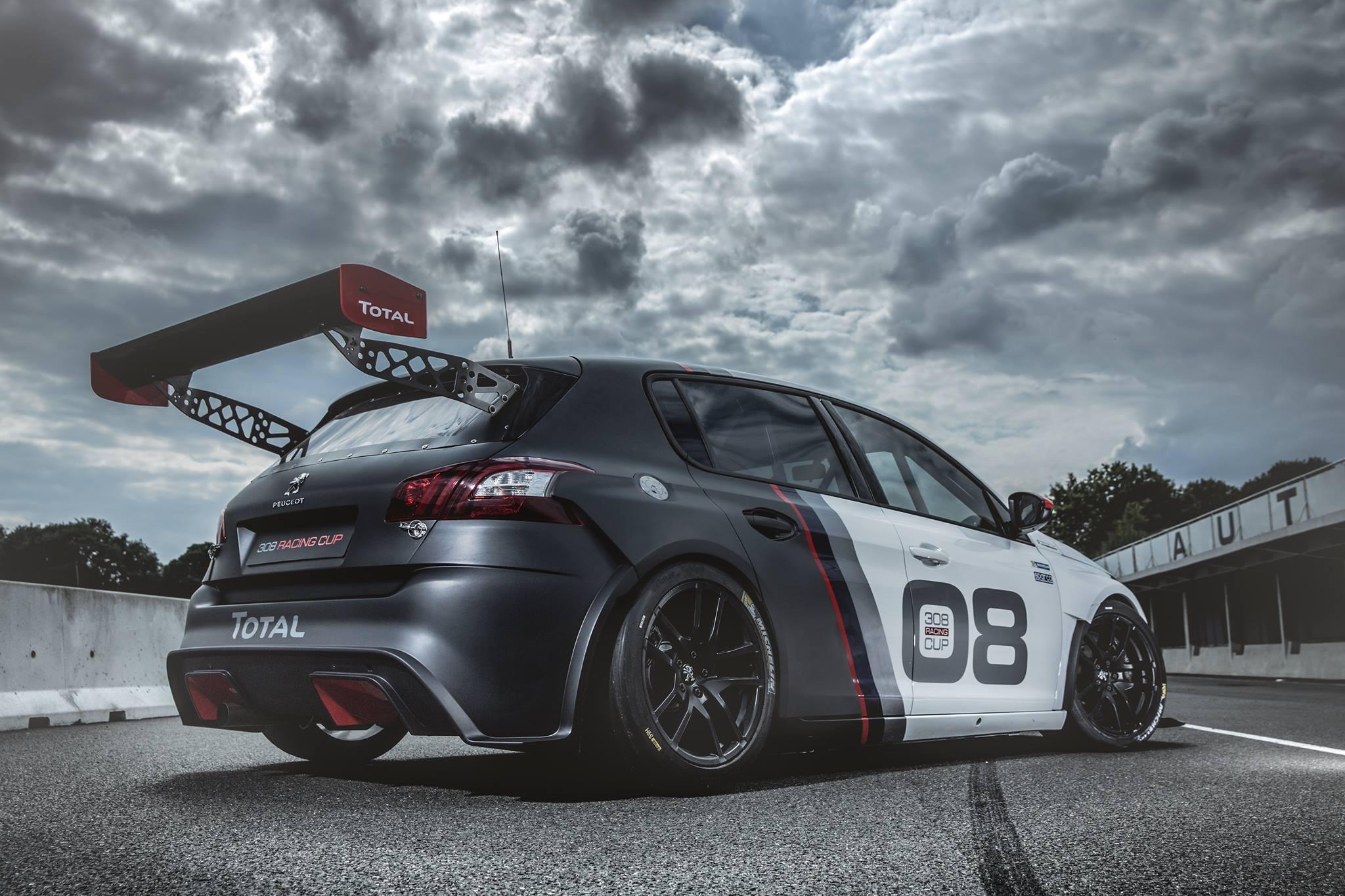 Peugeot 308 Racing Cup: Născut pentru a concura