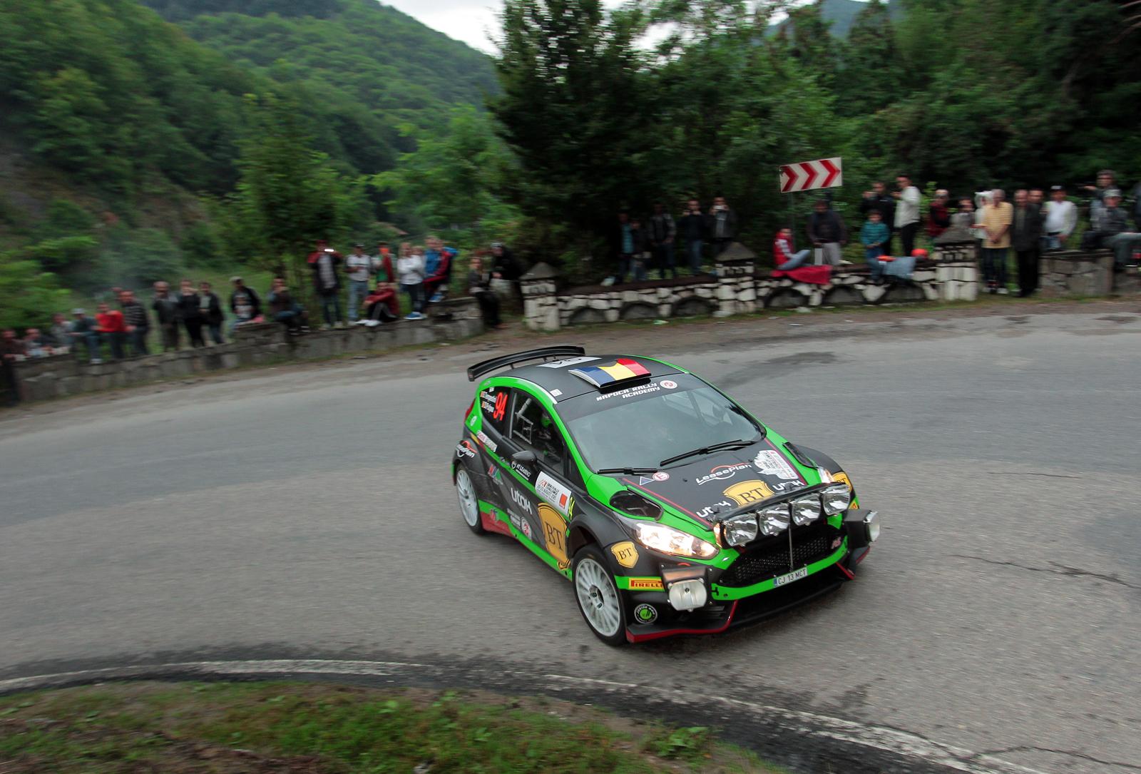 Simone Tempestini este lider după prima zi a Sibiu Rally Challenge