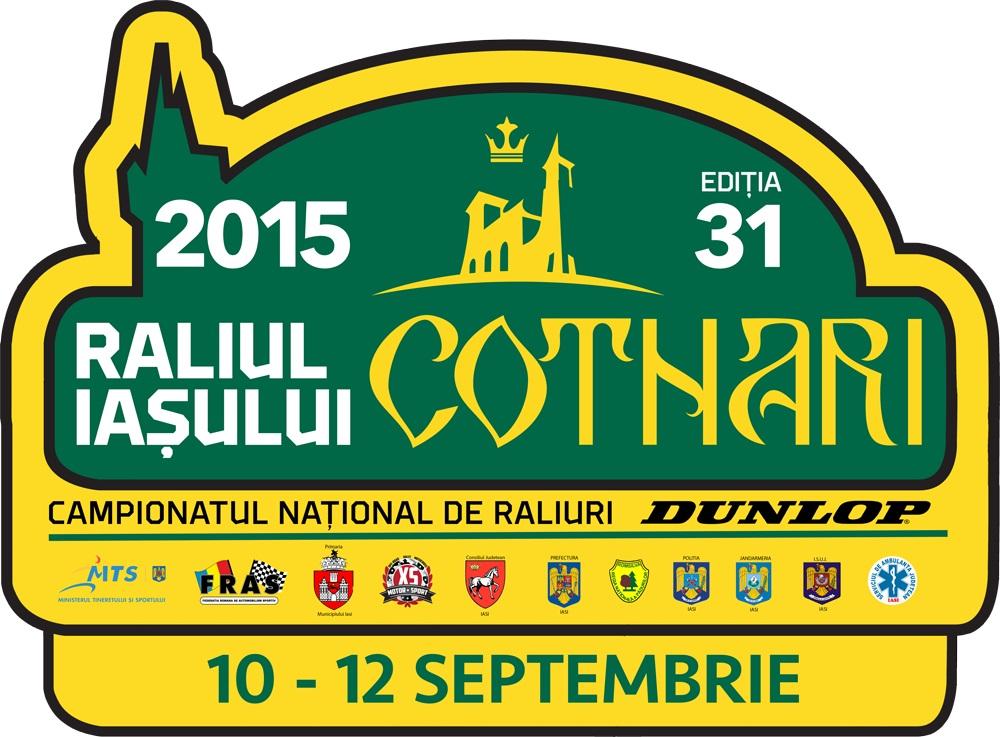 Raliul Iasului Cotnari 2015 – Clasamente finale