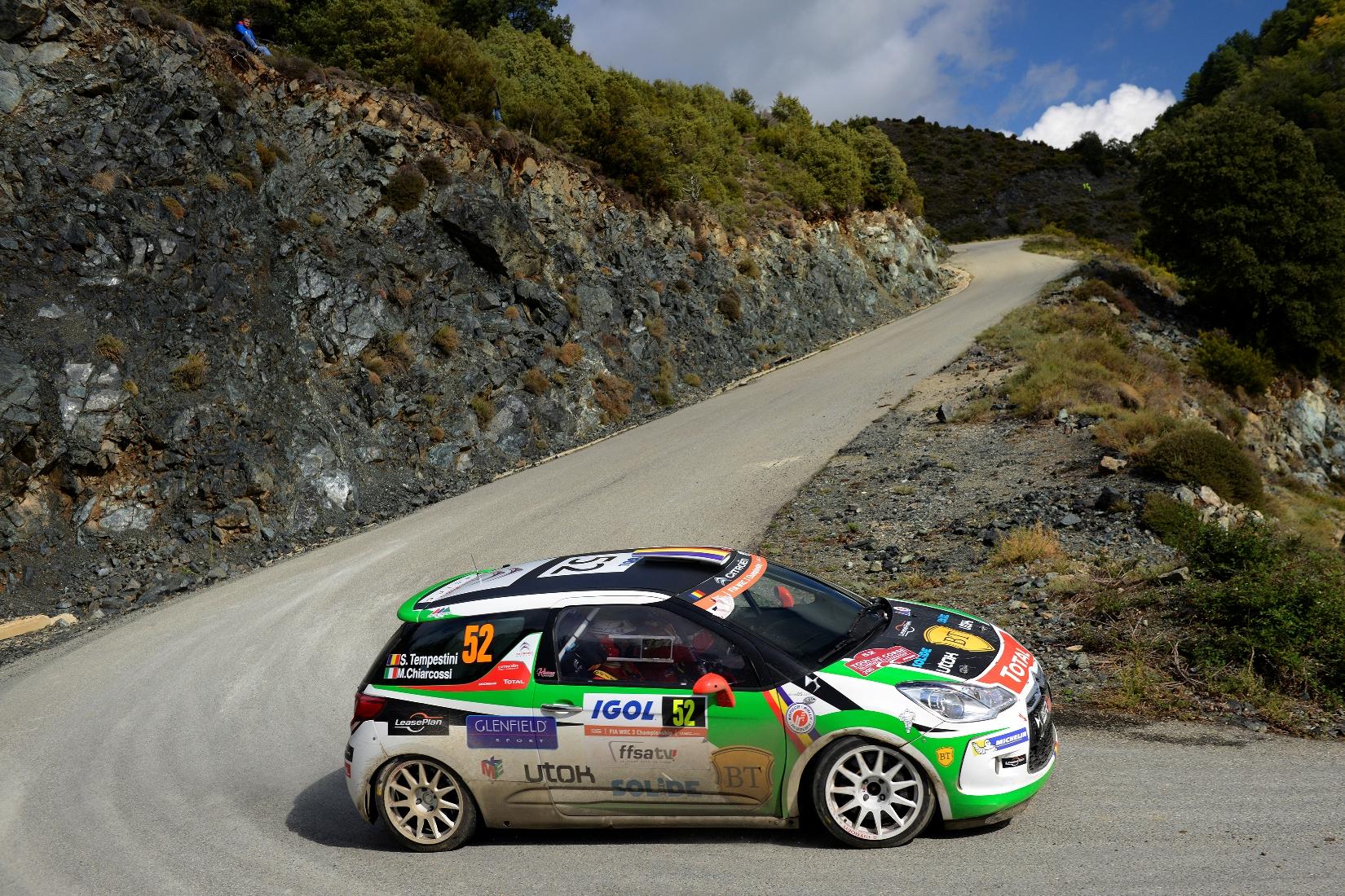 Simone Tempestini a terminat Turul Corsicii pe locul 2 în WRC 3