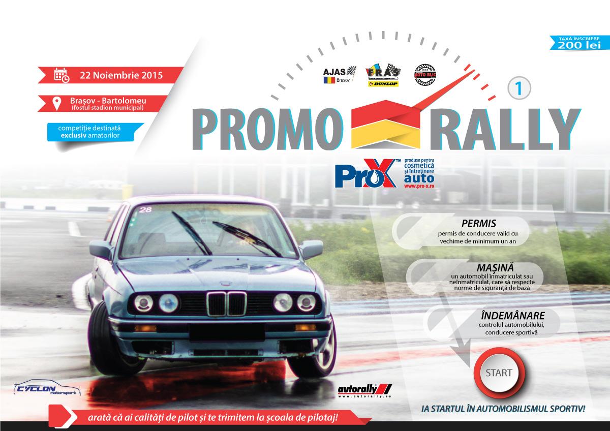 Promo Rally cauta cei mai talentati piloti amatori