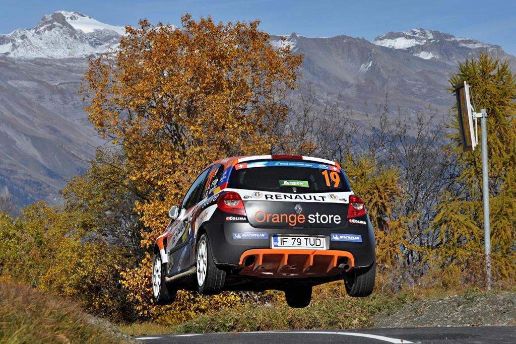 Alex Filip a triumfat în ERC 3 pe specialele din Rallye International du Valais