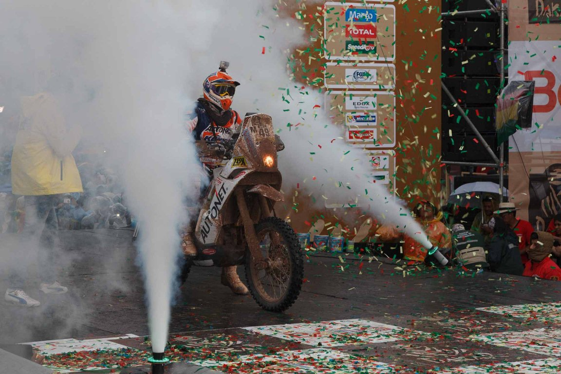 Odiseea Dakar 2016 a început pentru Mani Gyenes
