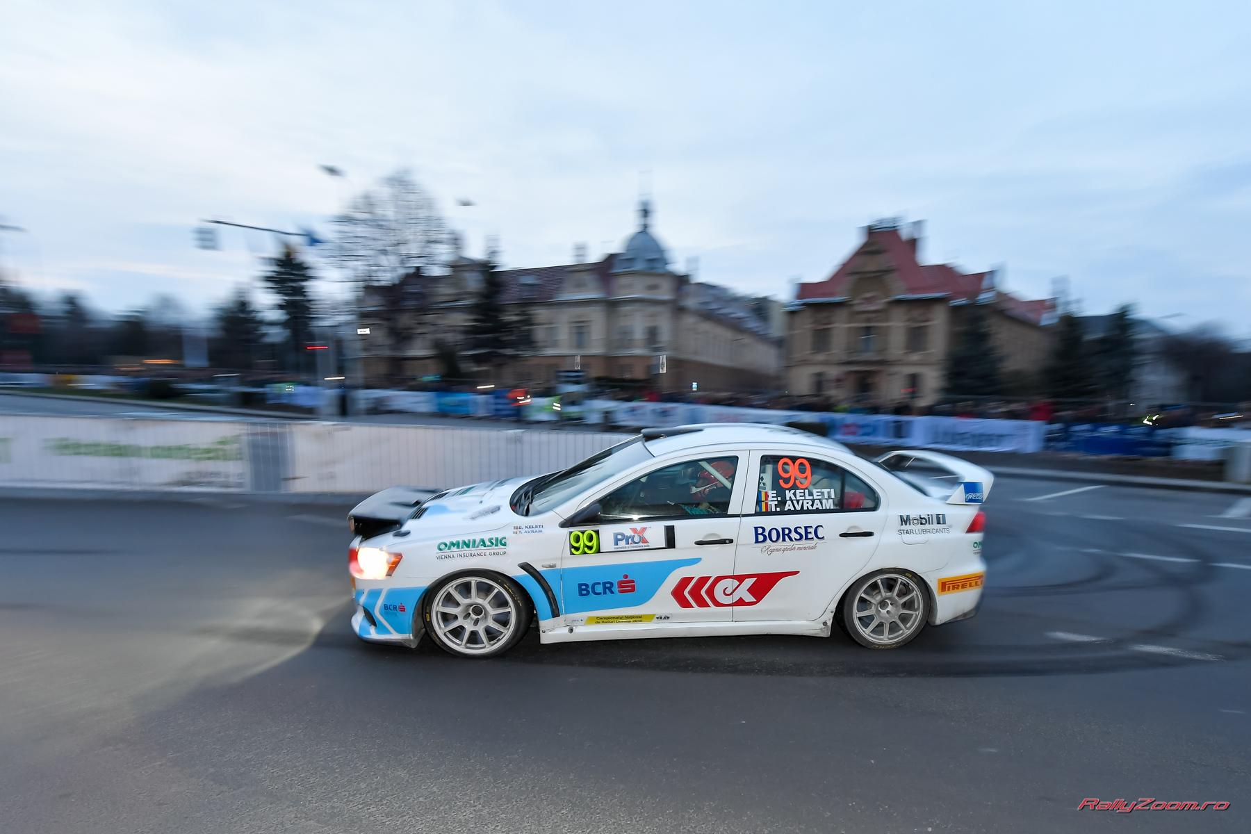 Victorie la clasa 3 si alte doua clasari pe podium  pentru echipajele BCR Rally Team
